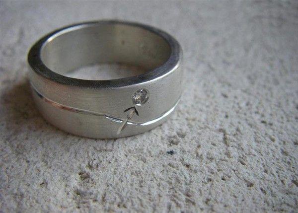 Men's Sagittarius Zodiac Ring