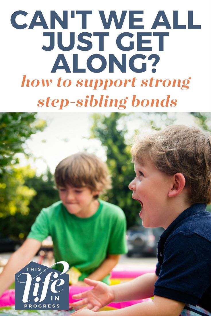Blended family | Stepfamily | Step-sibling | Sibling rivalry | Blended family bonding | How to support step-siblings via @lifeinprogress8