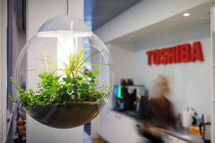 Babylone pendant at Toshiba Office / Ph. Angelica Gunnar