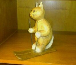 Cat skiing! this is in office ...