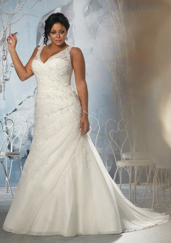 Fancy Beads Free Shipping 2013 New Arrival Plus Size Wedding Dress  $152.00