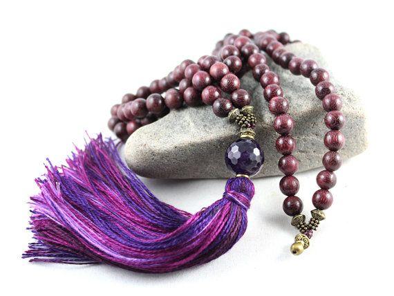Corazón púrpura Mala Mala de amatista Peltogyne Mala Mala