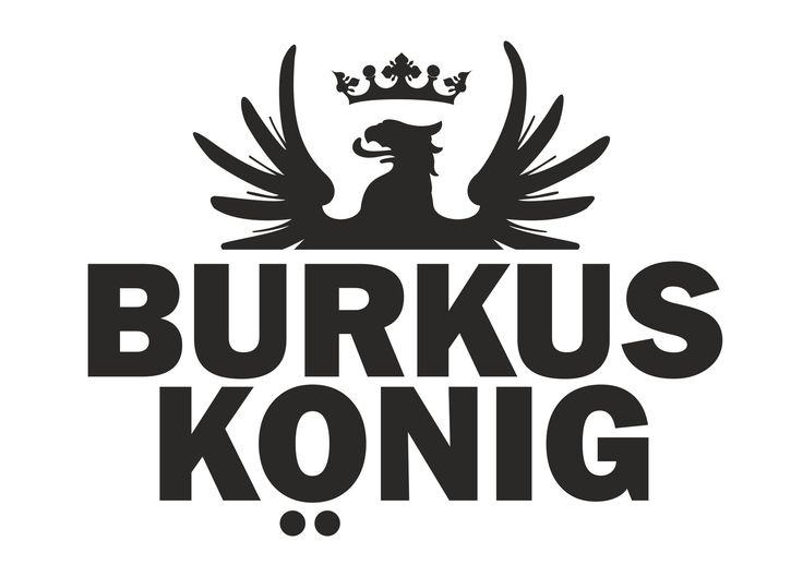 The original Burkus König logo. Burkus König's official site: http://bit.ly/bkofficial