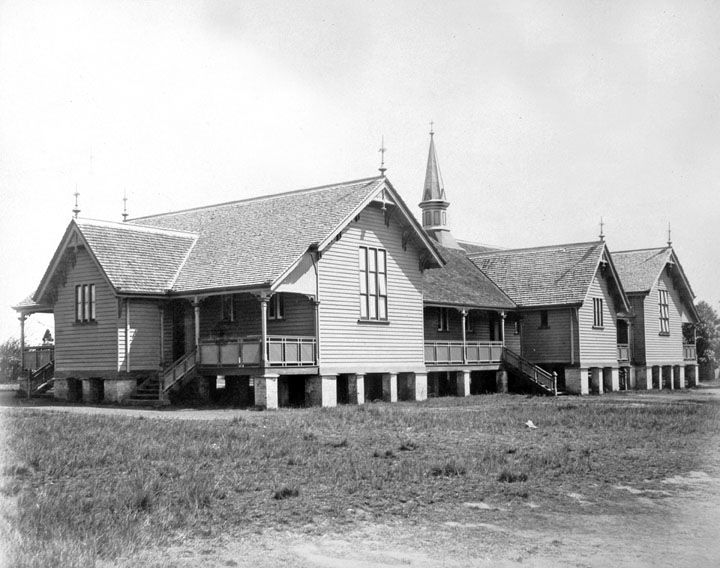 Central State School circa 1890 (Qld State Archives)