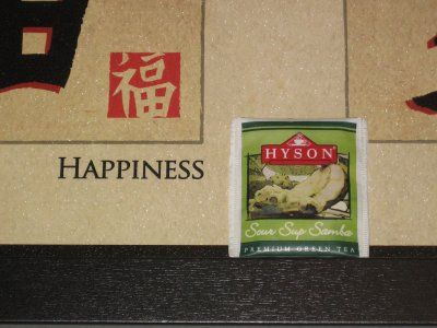 Hyson Sour Sup Samba Green Tea: (UN) Happiness