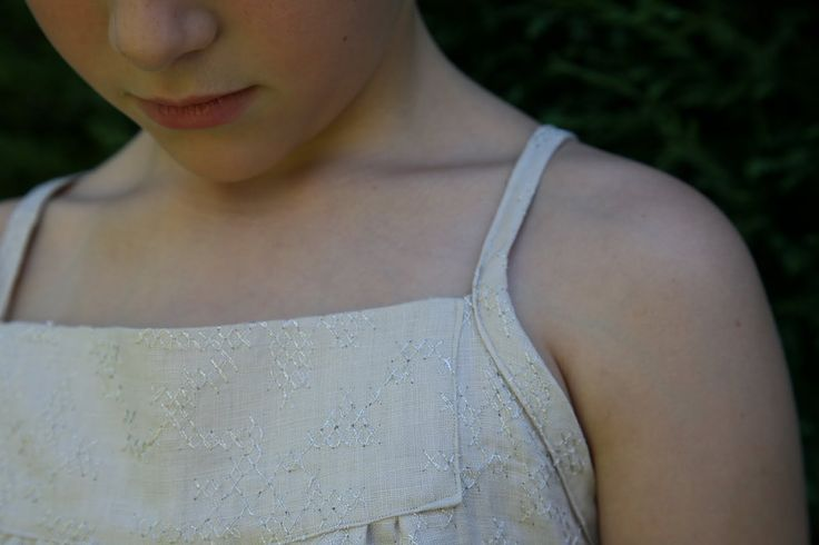 Sew Tessuti Blog - Sewing Tips & Tutorials - New Fabrics, Pattern Reviews: Innocent and Lovely Girlswear - Patterns J and P