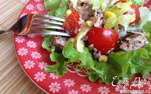 Испанский салат с хамоном