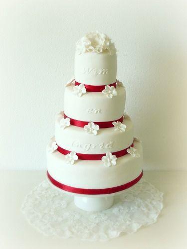 Bruidstaart, via Flickr.