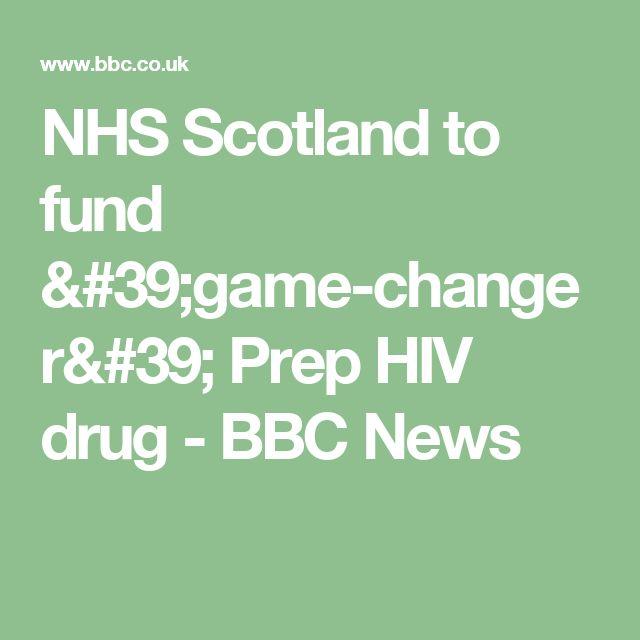 NHS Scotland to fund 'game-changer' Prep HIV drug - BBC News