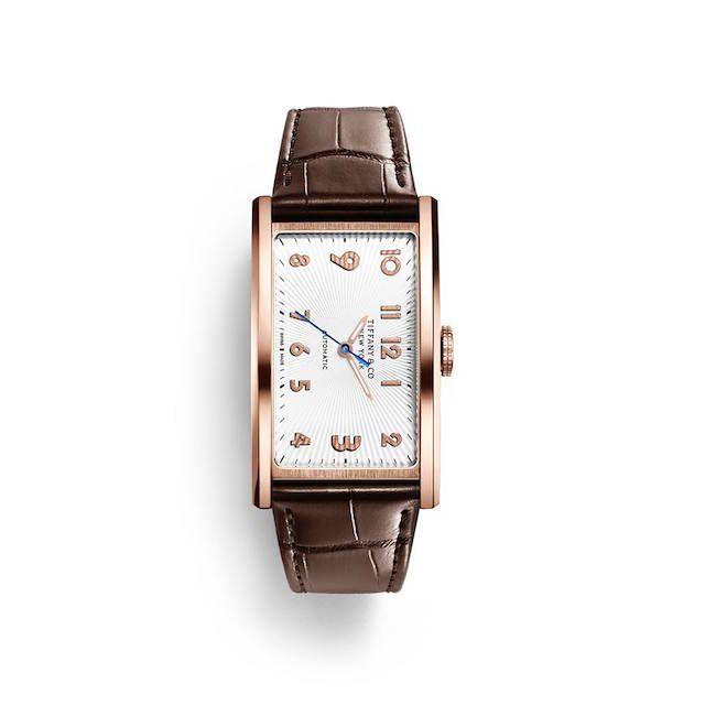 ティファニーの大胆な文字盤の時計オートマティックを発売