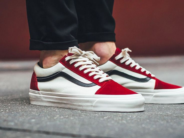 Vans Vault Old Skool LX - Red Dahlia - 2017 (by titolo)