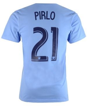 adidas Men's Andrea Pirlo New York City Fc Primary Player T-Shirt  - Blue XXL