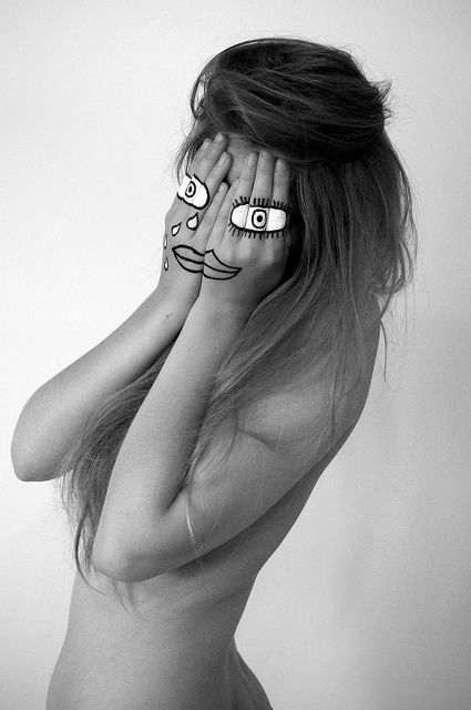 Hidden Identity - Face paint 3 | Flickr - Photo Sharing!