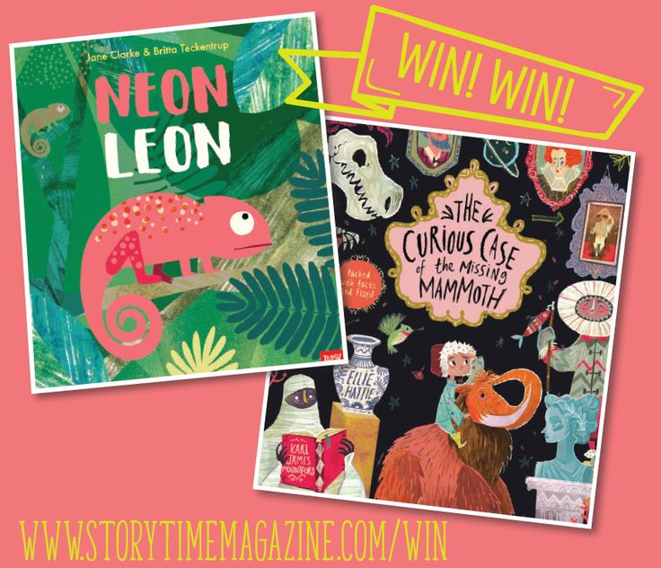 Win these two beautiful books from Storytime magazine! Closes Tues March 7 2017. Enter here: http://www.storytimemagazine.com/win