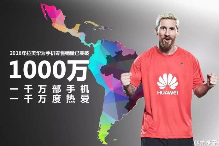 Huawei's phone sales in Latin America hits 10 million milestone  http://www.gsmarena.com/huaweis_smartphone_sales_in_latin_america_hits_10_million_milestone-news-21897.php
