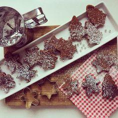Berg küsst Küste: Advent, Advent! Rezept für winterliche Lebkuchen-Brownies