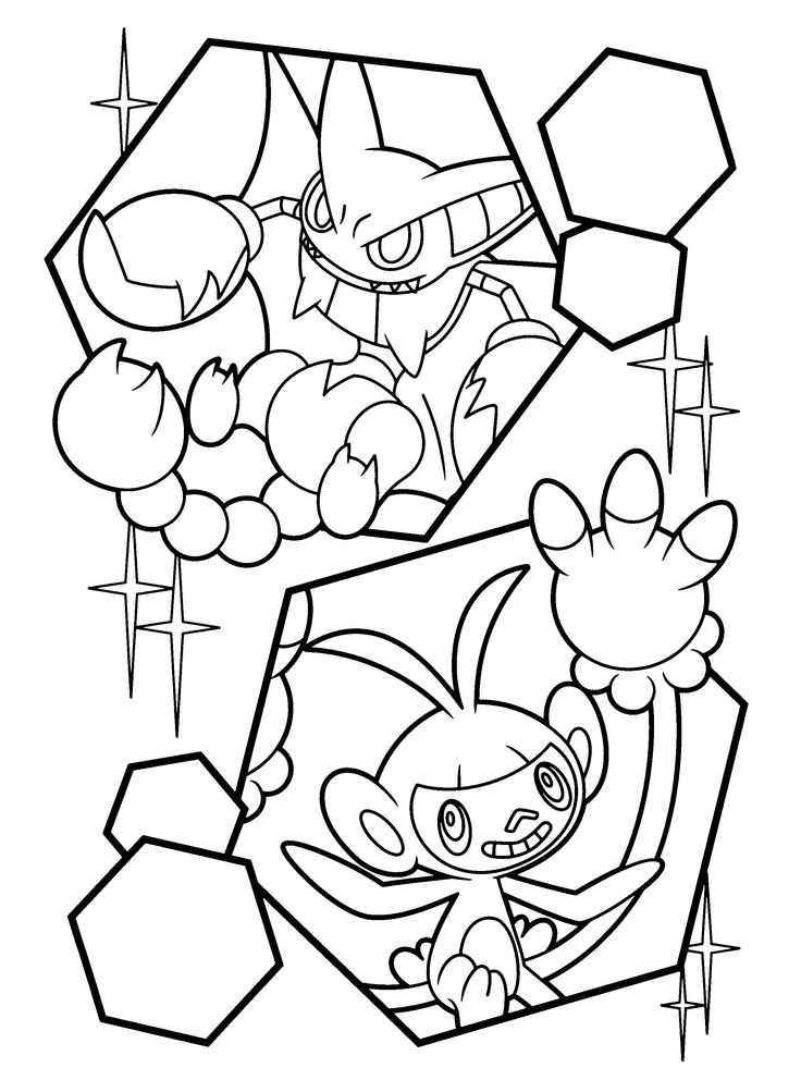 pokemon dimond coloring pages - photo#29