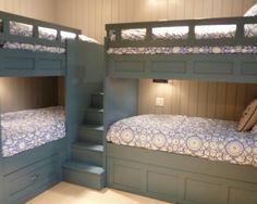 Image result for built in corner bunk beds