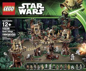 Star Wars LEGO Ewok Village 10236