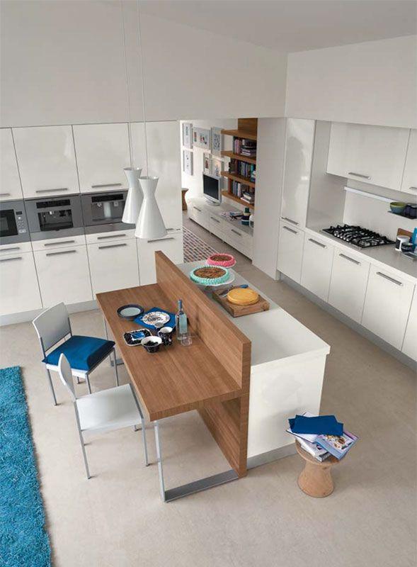 Oltre 25 fantastiche idee su isole cucina su pinterest - Tavolo lavoro cucina ...