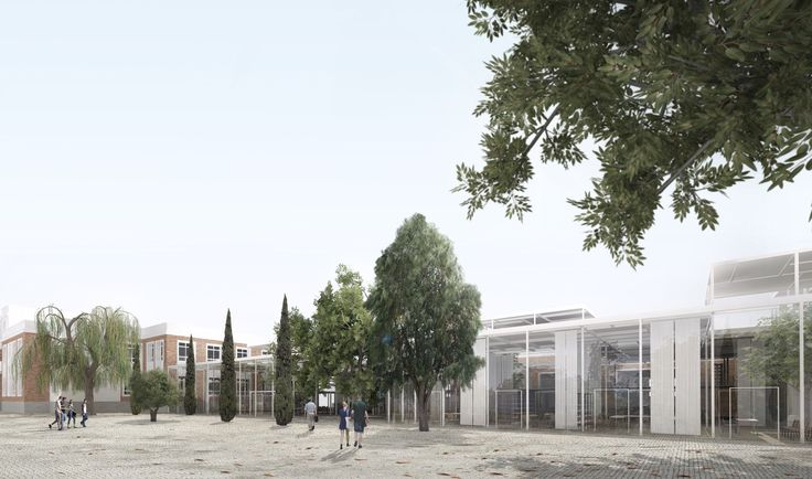 DJarquitectura . Campus Teatinos . Málaga (1), exterior render via afasiaarchzine