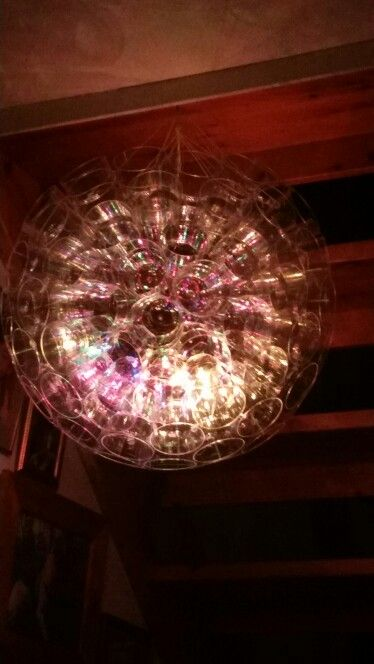 Lampa av plastglas