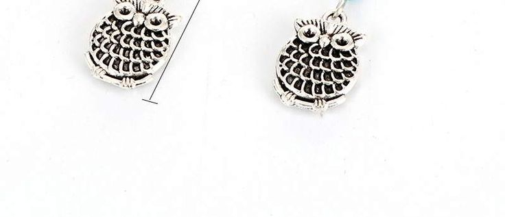 Owl Silver Color,Simple and must have it! REPIN if you love it 😍  Only 14 IDR