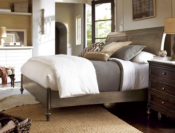 urban bedroom furniture. universal furniture proximity urban sleigh bedroom set in sumatra finish e