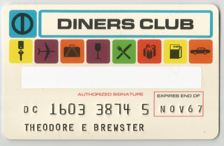 Diners Club (Diners Club International USA, United States of America) Col:US-DC-0002-02
