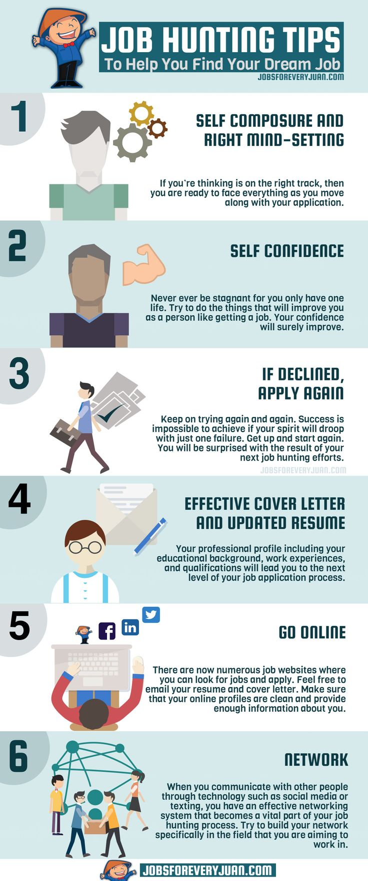 Job Hunting Tips To Help You Find Your Dream Job