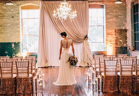 Elegant Drapery At Indoor Ceremony: 168 Best Images About Decor For Ceremony Structures On
