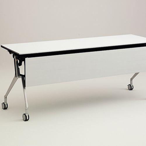 NT  Okamura NT, een multifunctionele, inklapbare, mobiele tafel van PLAN@OFFICE ontworpen door Giugiaro Design.