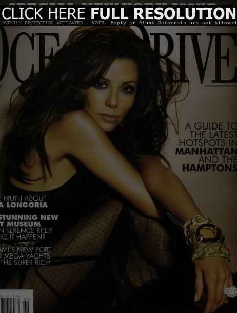 Eva Longoria - Ocean Drive Magazine Cover [United States] (July 2006)