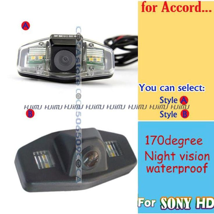 promo wired wireless car rear reverse camera for sony ccd honda 2005 2010 accord honda civic europe pilot #pilot #cars
