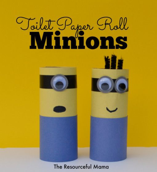 Toilet Paper Roll Minions