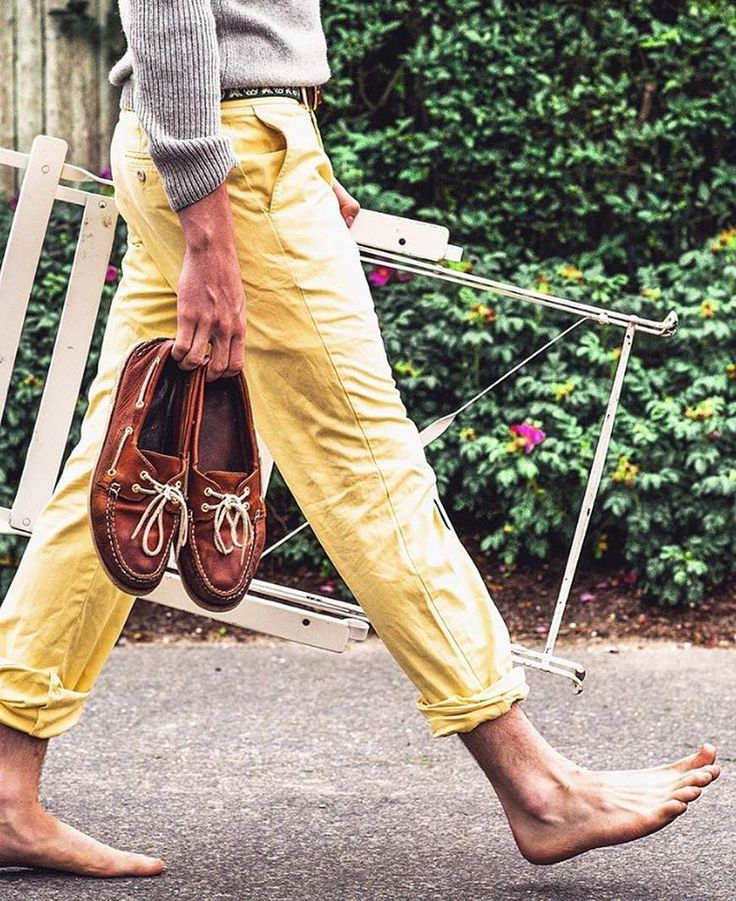 Yellow Chinos Into The Wild Life Pinterest