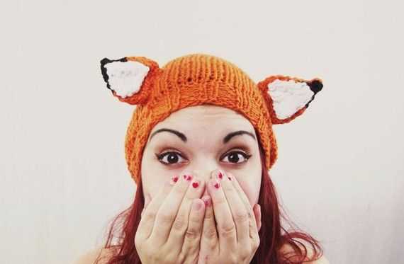 Fantastic Fox Hat by awberry on Etsy, $25.00