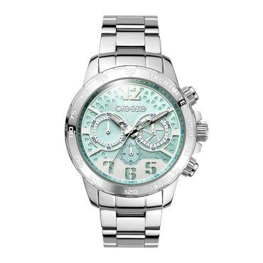 Γυναικείο μοντέρνο αδιάβροχo ρολόι BREEZE Fantabulous 610621.3 με γαλάζιο καντράν και ατσάλινο μπρασελέ   Ρολόγια BREEZE ΤΣΑΛΔΑΡΗΣ στο Χαλάνδρι #breeze #fantabulus #μπρασελε #watches #ρολόγια