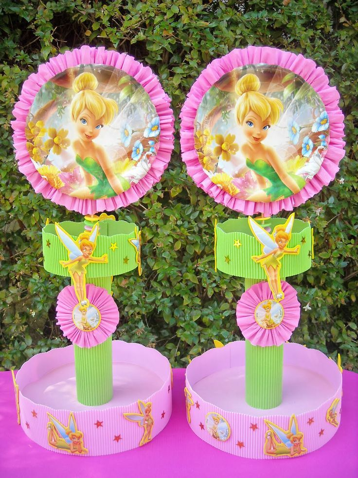 130 best images about tinkerbell on pinterest mesas - Manualidades centros de mesa ...