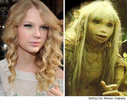 Taylor Swift Was in The Dark Crystal? ....is it terrible I lol'd OUT LOUD at this...