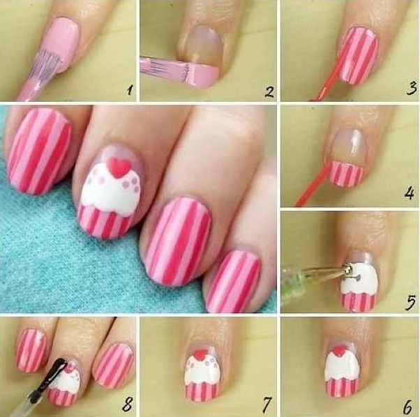 Cupcake Nails!!!!!!!!!