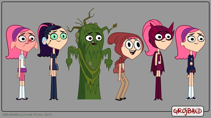 Cartoon Network Character Designer Salary : Grojband trina costumes g awesome crazy