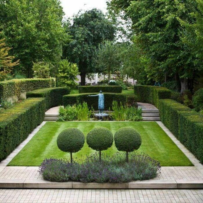 1001 Ideen Fur Garten Gestalten Mit Wenig Geld Garten Immergruner Garten Minimalistischer Garten