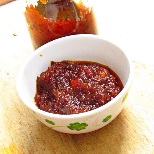 Homemade Sambal