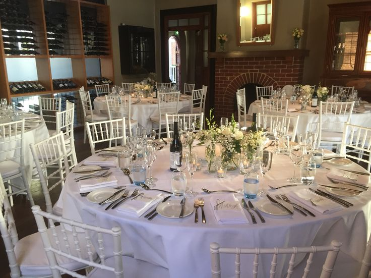 Lovely reception in the Wine Room, BWG Functions