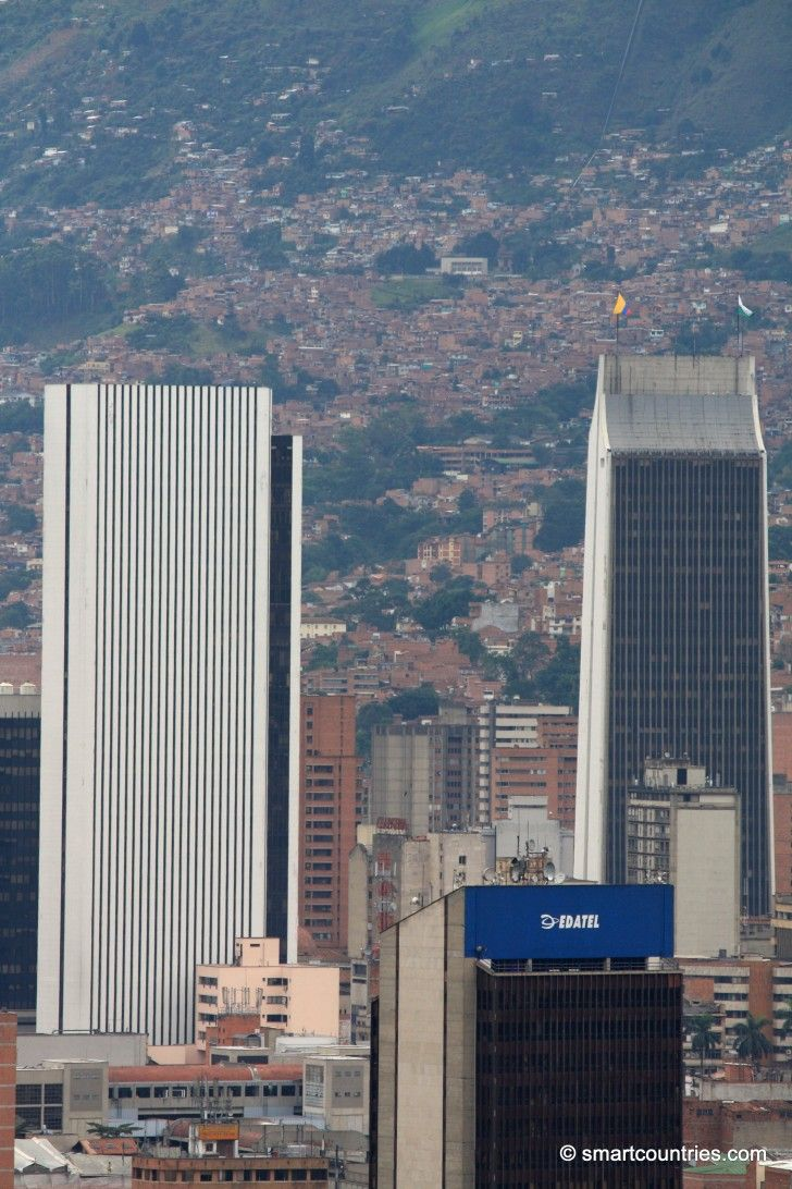 Medellin Skyscrapers, Colombia.