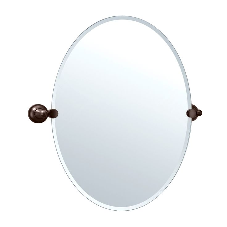 shop gatco tiara beveled oval bathroom mirror at atg stores browse our bathroom mirrors