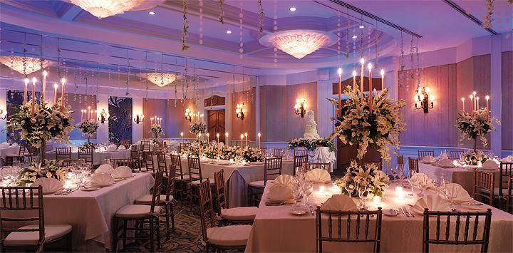 Wedding banquet at Edsa Shangri-La, Manila.