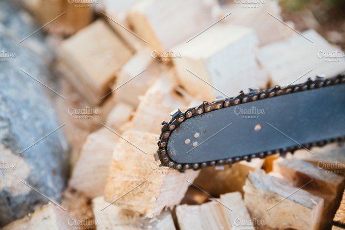 Chainsaw by OSORIOartist on @creativemarket