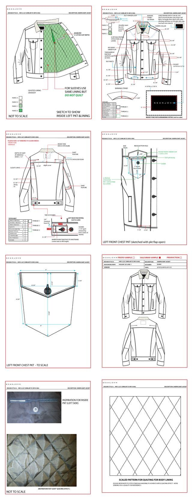 Jacket construction